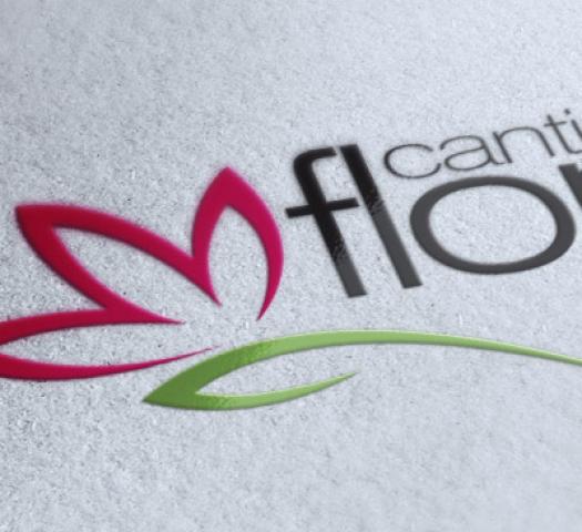 Logotipo Cantinho das Flores
