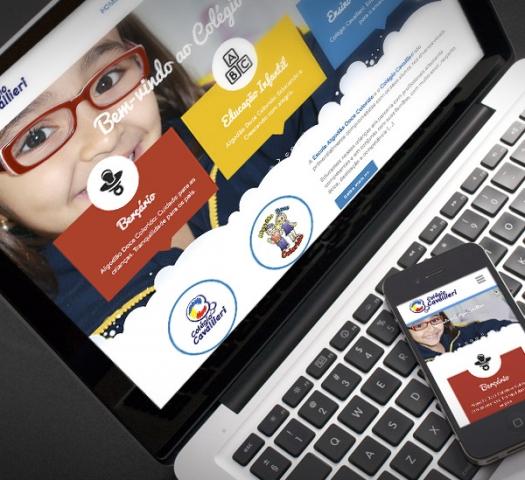 Website Colégio Cavallieri