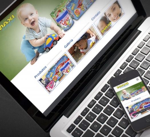 Website Fraldas Maxi Confort